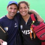 Sergio Vigil: Tener a Soledad en un equipo es hermoso