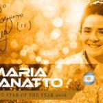 María José Granatto, la mejor del 2016